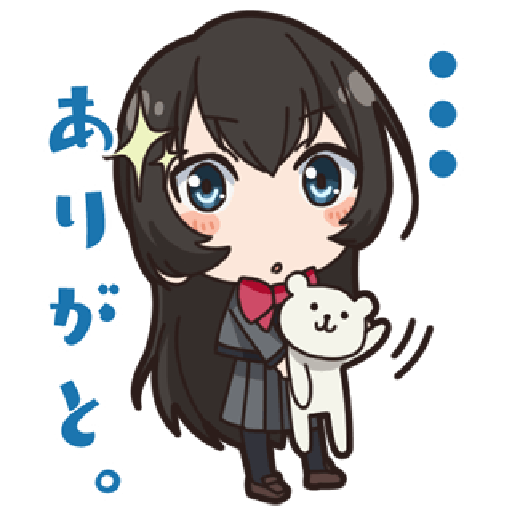Revue Starlight test - Sticker 11