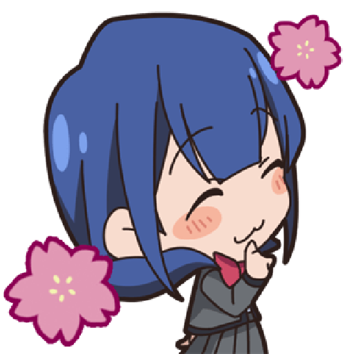 Revue Starlight test - Sticker 10
