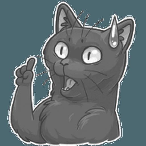 Stickers Cloud Cat - Sticker 1