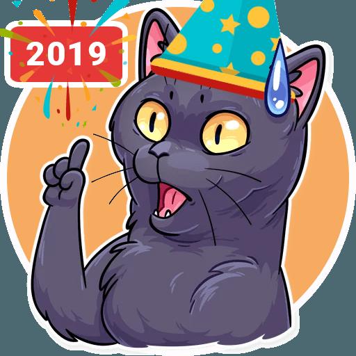 Stickers Cloud Cat - Sticker 2