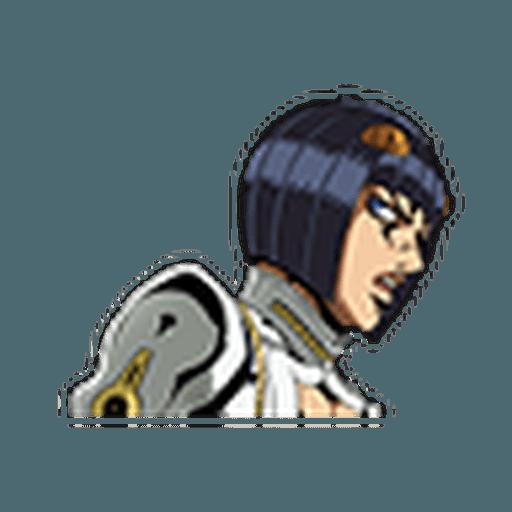 JOJO Part5 Vol. 2  Noble Readiness - Tray Sticker
