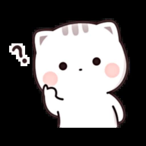 Cutie Cat Chan E - Sticker 6