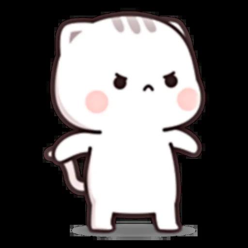 Cutie Cat Chan E - Sticker 5