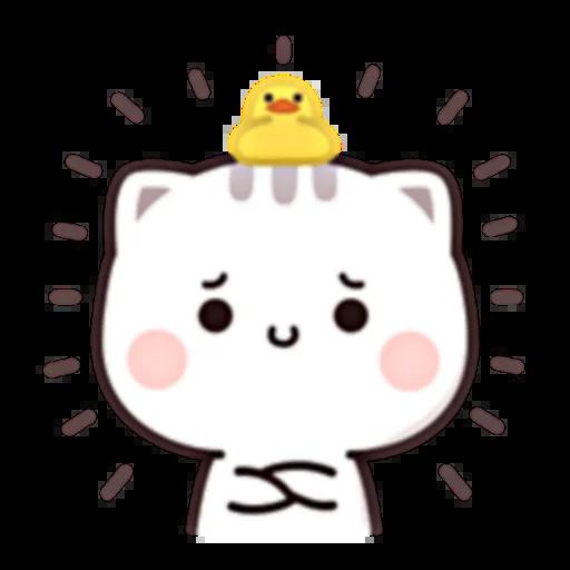 Cutie Cat Chan E - Sticker 4