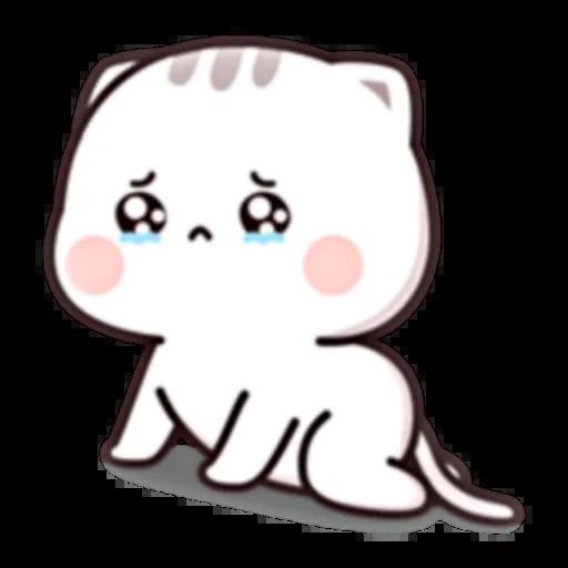 Cutie Cat Chan E - Sticker 11