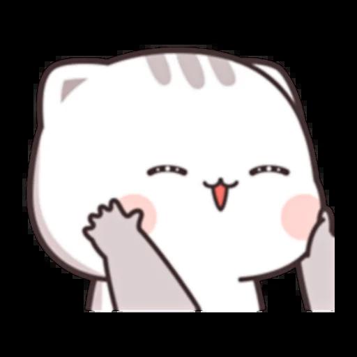 Cutie Cat Chan E - Sticker 14