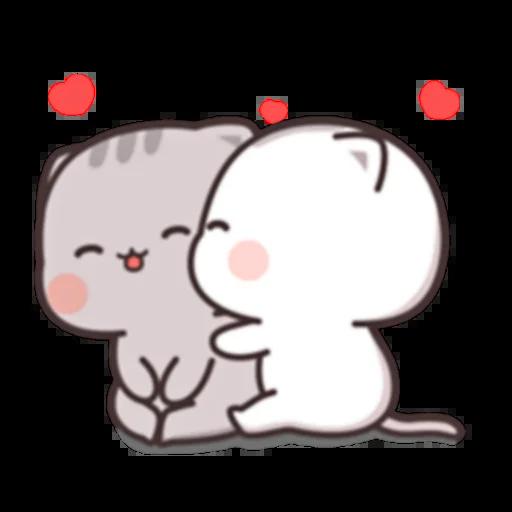 Cutie Cat Chan E - Sticker 3