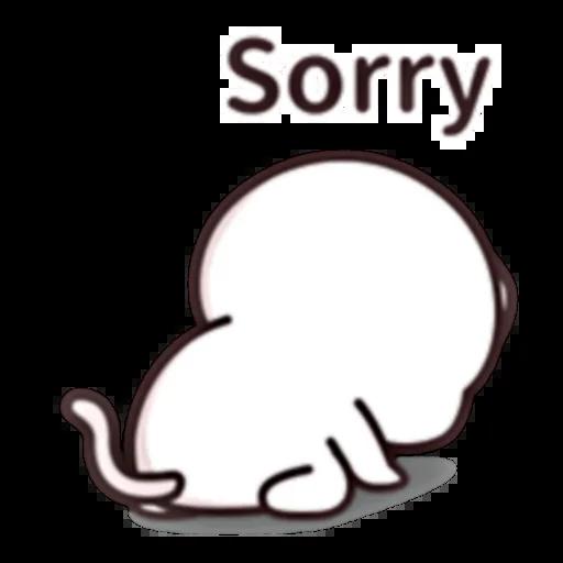 Cutie Cat Chan E - Sticker 18