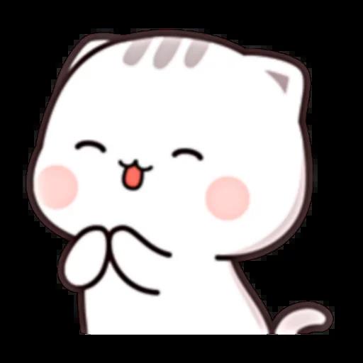Cutie Cat Chan E - Sticker 9