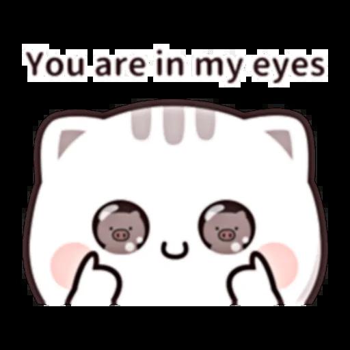 Cutie Cat Chan E - Sticker 10