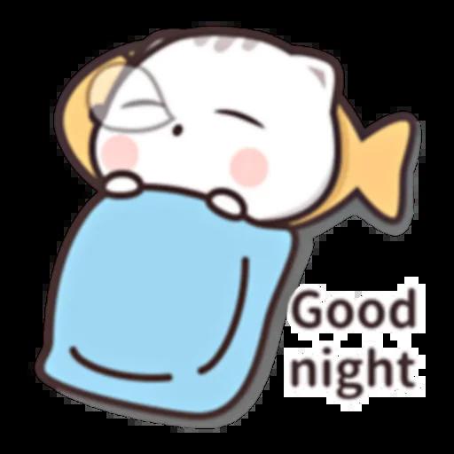 Cutie Cat Chan E - Sticker 21