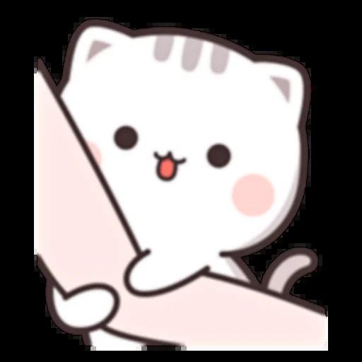 Cutie Cat Chan E - Sticker 22