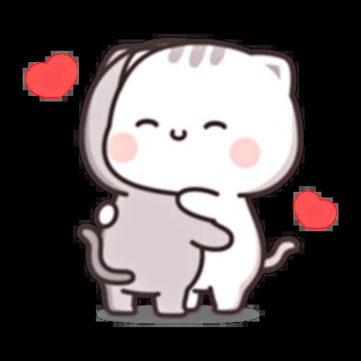 Cutie Cat Chan E - Sticker 7