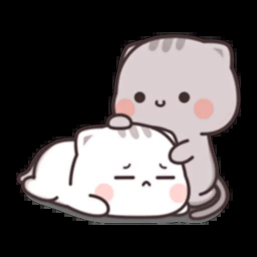 Cutie Cat Chan E - Sticker 20