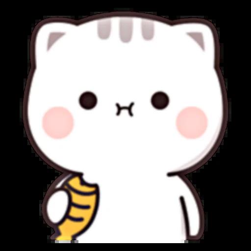 Cutie Cat Chan E - Sticker 24