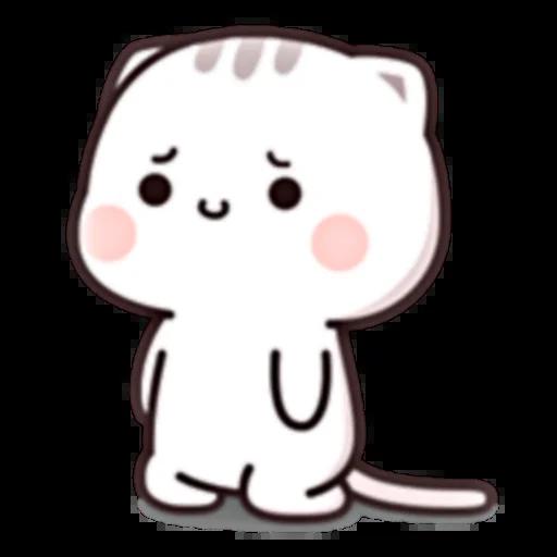 Cutie Cat Chan E - Sticker 2