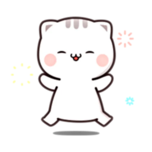 Cutie Cat Chan E - Sticker 17