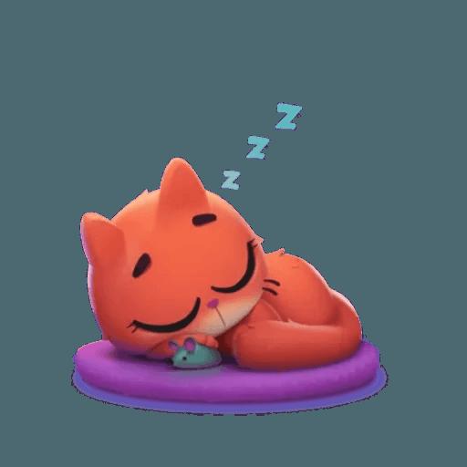 3D Cat - Sticker 12