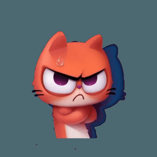 3D Cat - Sticker 9
