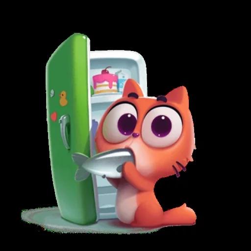 3D Cat - Sticker 25