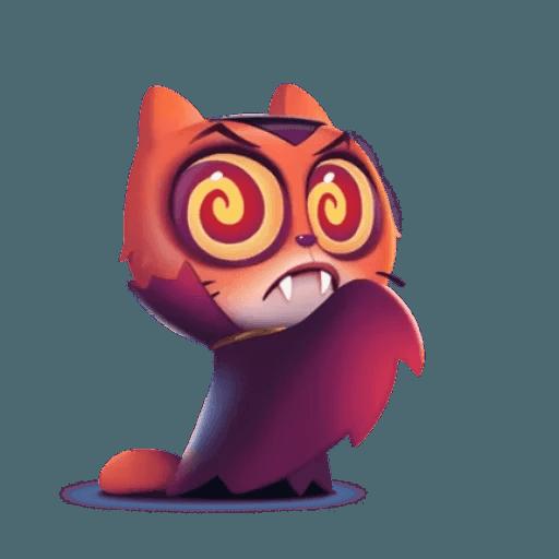 3D Cat - Sticker 26