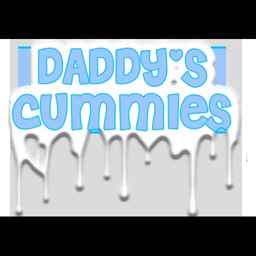 Hi daddy - Tray Sticker