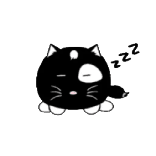 lonely black cat - Sticker 13