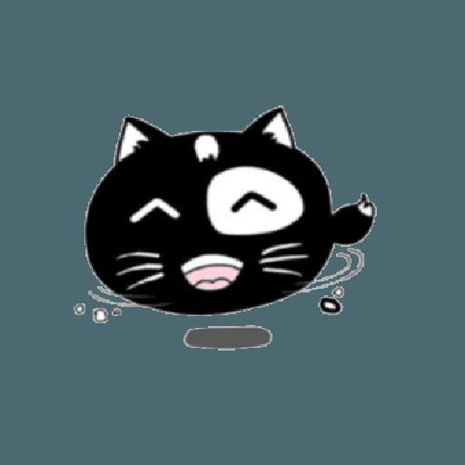 lonely black cat - Sticker 10