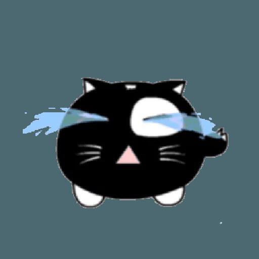 lonely black cat - Sticker 6