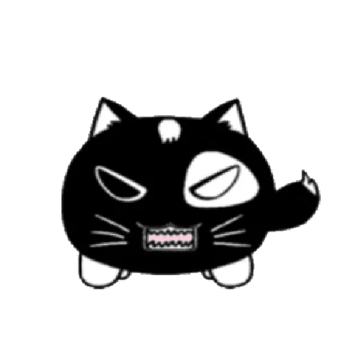 lonely black cat - Sticker 9