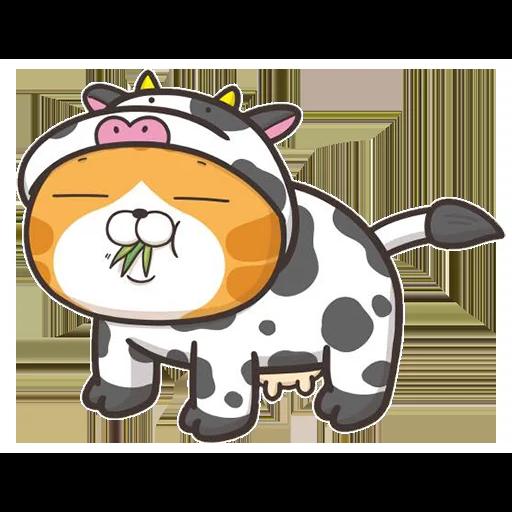 今翅仆街貓 - Sticker 30