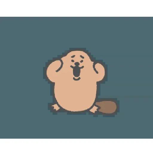 地鼠仔 - Sticker 3