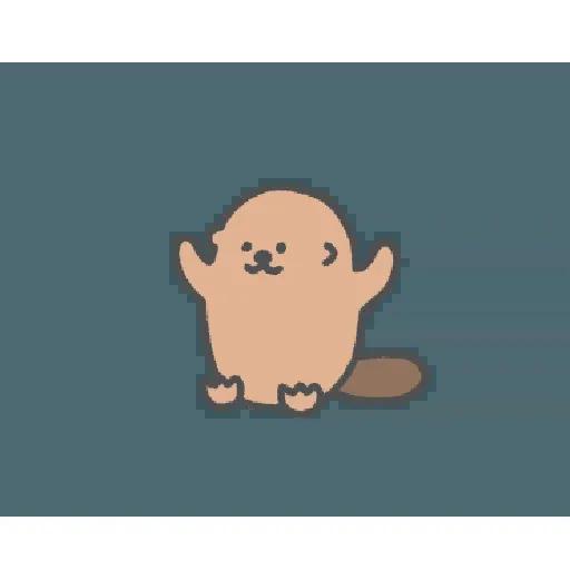 地鼠仔 - Sticker 23