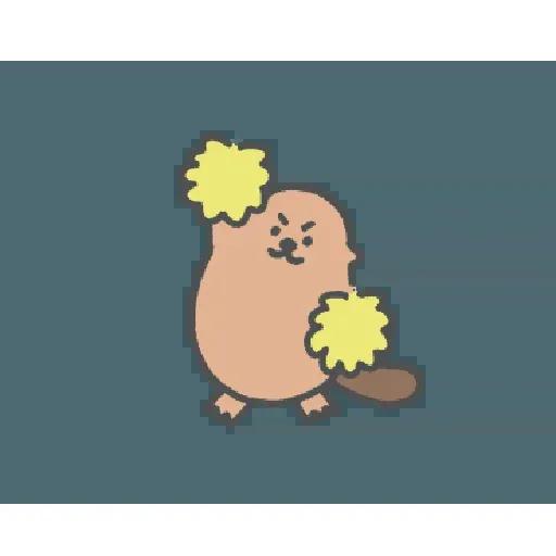 地鼠仔 - Sticker 2