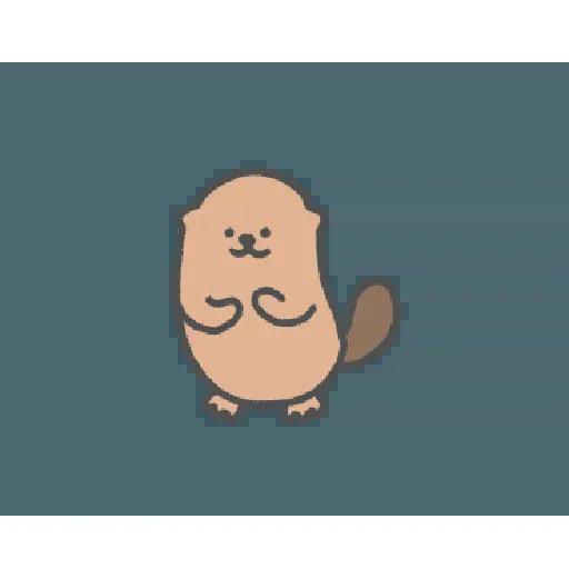 地鼠仔 - Sticker 20