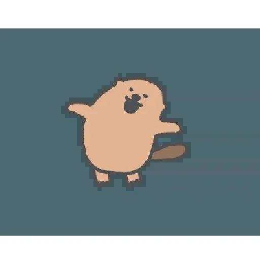 地鼠仔 - Sticker 24
