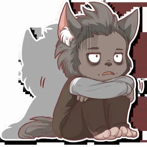Wolf love - Sticker 3