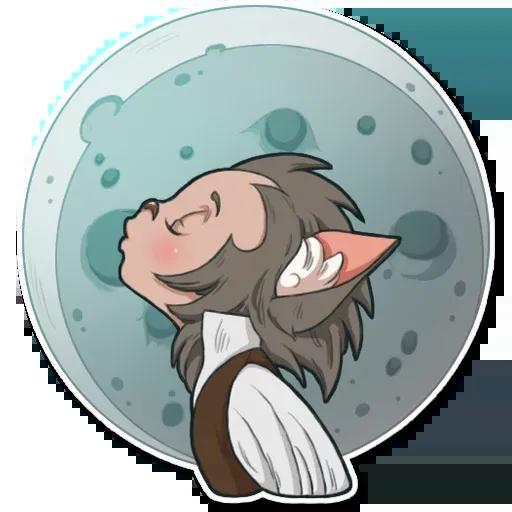 Wolf love - Sticker 6