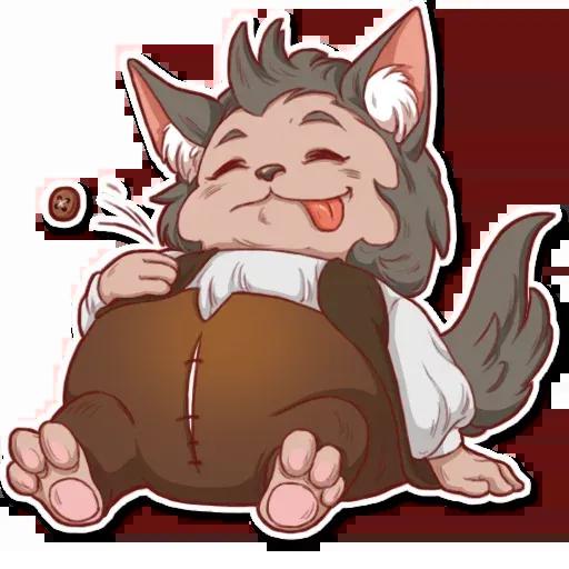 Wolf love - Sticker 17