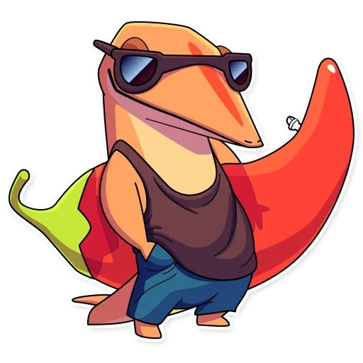 Lizard - Sticker 15