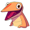 Lizard - Tray Sticker