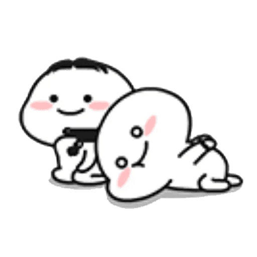 Lil bean pair - Sticker 10