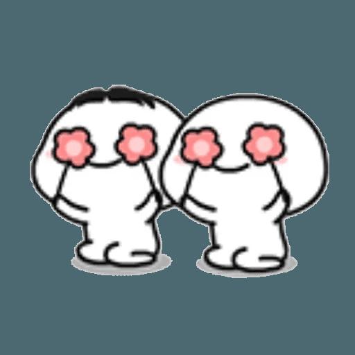 Lil bean pair - Sticker 24