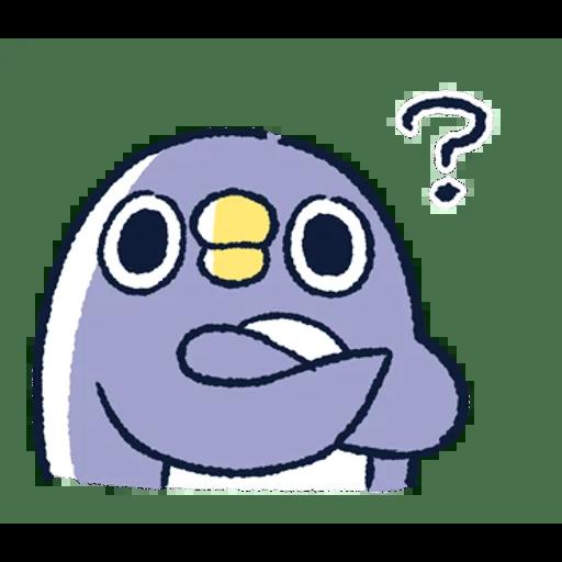 肥企鵝的內心話3 & 4 (1) - Sticker 6