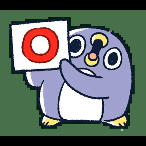 肥企鵝的內心話3 & 4 (1) - Tray Sticker