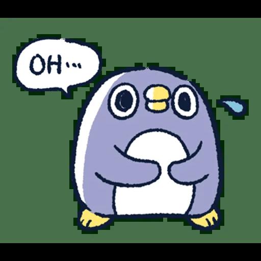 肥企鵝的內心話3 & 4 (1) - Sticker 4