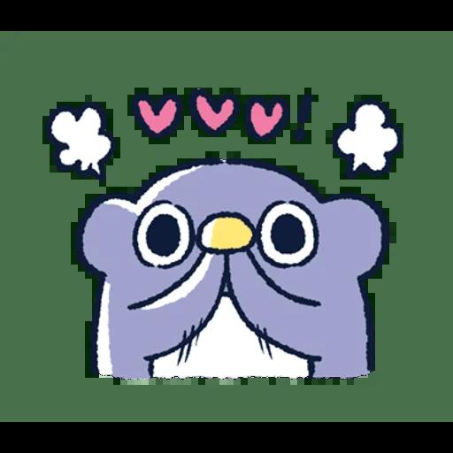 肥企鵝的內心話3 & 4 (1) - Sticker 24