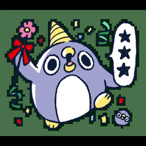 肥企鵝的內心話3 & 4 (1) - Sticker 11