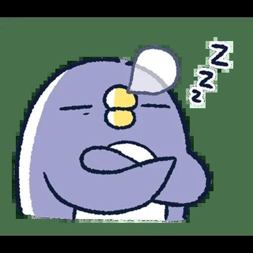 肥企鵝的內心話3 & 4 (1) - Sticker 8