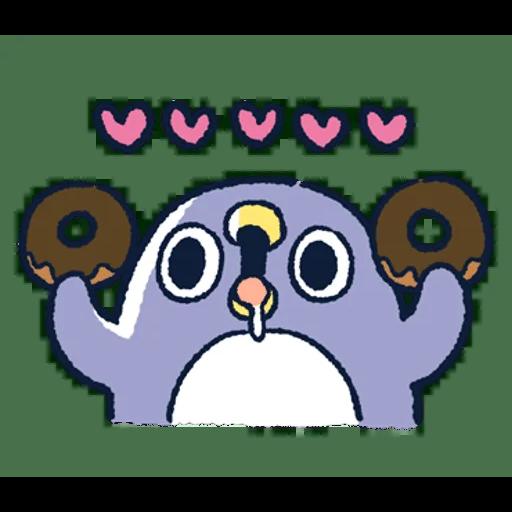肥企鵝的內心話3 & 4 (1) - Sticker 23